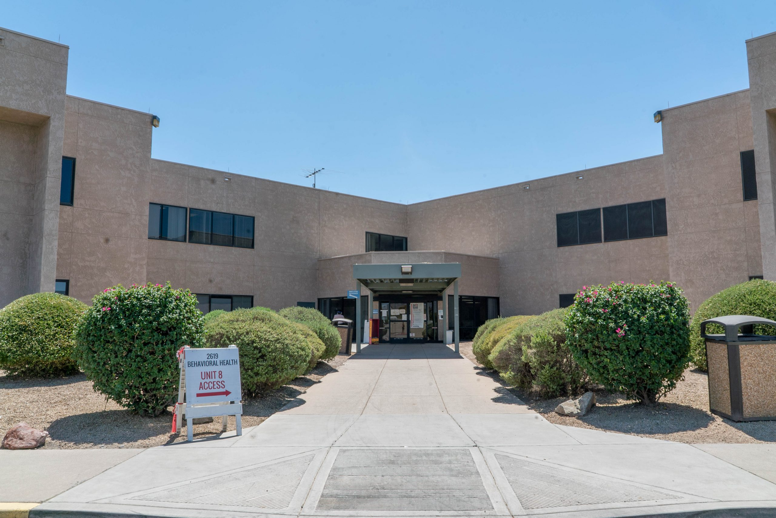 Valleywise Health Center front entrance