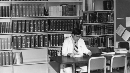 doctor reading 1958