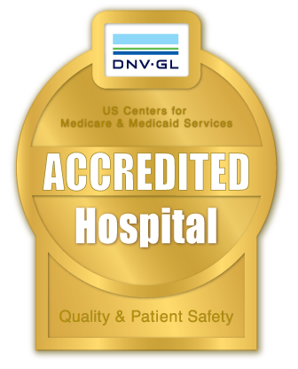 Accredited Hospital badge