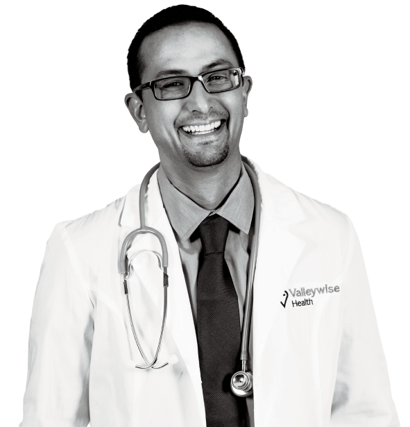 male doctor valleywise health