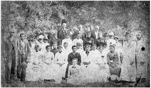 A Juneteenth celebration in Emancipation Park in Houston's Fourth Ward in 1880